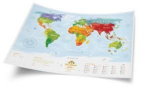 <b>1DEA</b>.<b>me Карта Travel Map</b> Kids Animals — купить по выгодной ...