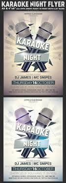 karaoke night flyer template party events home and flyer template karaoke night flyer template is very modern flyer that will give the perfect promotion for your upcoming event or open microphone party tallent show or