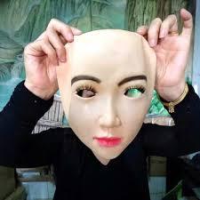 Купить Realistic Human Skin Mask Disguise Self Masks with False ...