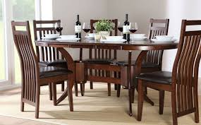 extendable dining table set: dark wood dining table amp chairs dark wood dining sets