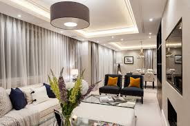 narrow living room bright stylish luxury long narrow living room interior