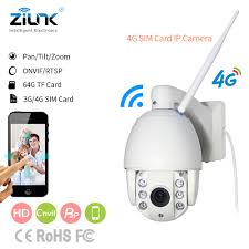 ZILNK <b>3G</b>/<b>4G</b>/<b>WIFI IP</b> Camera Speed Dome Camera PTZ Full HD ...