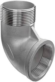 Stainless Steel 304 Cast Pipe Fitting, <b>90 Degree Street Elbow</b>, Class ...