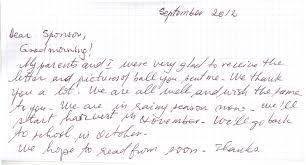 handwritten thank you letter format thank you letter  thank you letter how