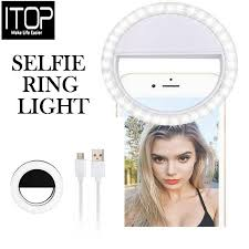 ITOP Selfie Mini Ring Light <b>Flash 36 LED</b> Rechargeable Camera ...