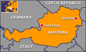 Image result for austria map europe