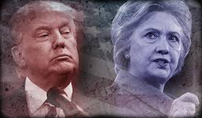 Image result for trump and hillary
