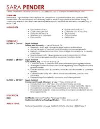 Paralegal Resume Entry Level Resume For Your Job Application