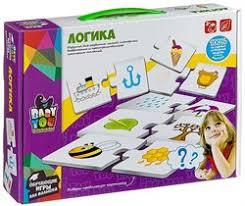 <b>Логика</b> набор <b>карточек</b>-<b>пазлов BONDIBON</b> ВВ2827 купить в ...