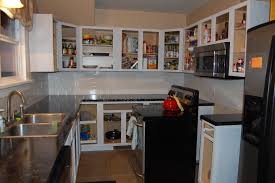 Kitchen Without Upper Cabinets Kitchen No Cabinets Monsterlune