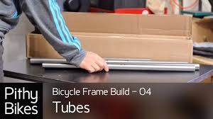 <b>Bicycle Frame</b> Build 04 - <b>Tubes</b> - YouTube