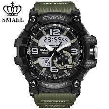 <b>Smael</b> Brand LED Digital Quartz <b>Watch Men's Waterproof</b> Sprot ...