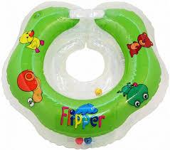 Круг для купания на шею <b>Roxy</b>-<b>kids Flipper</b> до 2 лет в ассортименте