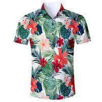 Discount <b>Mens</b> Flower Dress Shirt