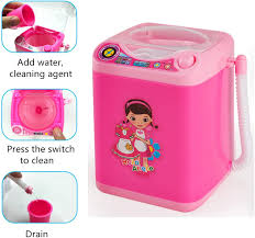 Electronic <b>Mini Washing Machine</b> Shape,Automatic Makeup Brush ...