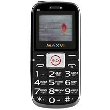 Мобильный <b>телефон Maxvi</b> B8 Black - характеристики ...