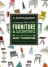 andy thornton ltd cover for the furniture and lighting supplement andy thornton lighting