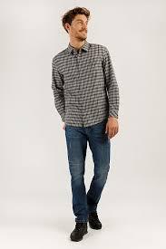 <b>Верхняя сорочка</b> мужская, цвет серый, артикул: A19-22024_2091 ...