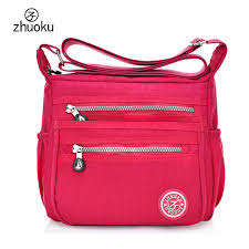 Hot!!2017 women Messenger bags good quality <b>nylon</b> women bag ...