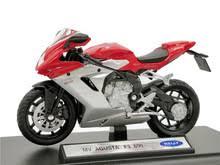 <b>Welly 1:18</b> MV Agusta F3 800 литой под давлением <b>мотоцикл</b> ...