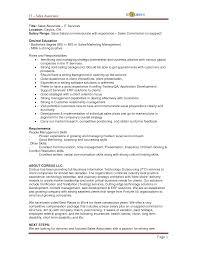 sales resume examples job  seangarrette co s