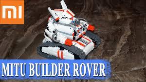 ОБЗОР <b>КОНСТРУКТОР XIAOMI</b> MITU <b>MI</b> BUNNY ROBOT ROVER ...