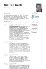 Excellent Mobile Architect Resume 64 For Your Resume Sample With ...
