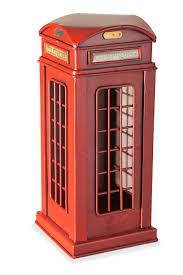 Статуэтка <b>Alec</b> Телефонная будка, 12x12x27 см цена | kaup24.ee