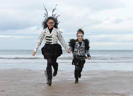 Image result for children at whitby goth weekend