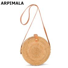 ARPIMALA <b>2018 Bohemian</b> Bali Rattan <b>Bags</b> for Women Small ...