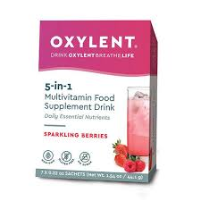 <b>Oxylent</b> Sparkling Berry <b>Multivitamin drink</b>