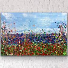 <b>Hand Painted</b> Abstract <b>Canvas</b> for sale | eBay