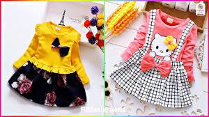Latest Kids <b>Winter</b> Dress Designs <b>New Baby</b> Girls Beautiful Frocks ...