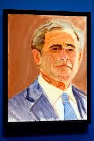 Der frühere US-Präsident George W. Bush betätigt sich seit seinem Ausscheiden aus der Politik 2009 als Maler. - 95294-v5KrrZ5d0EUlq08fkowwVg