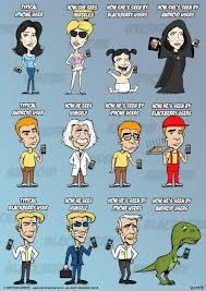 How smartphone users see each other, Android vs. BlackBerry vs ...