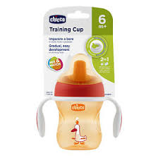 <b>Chicco</b> Чашка-<b>поильник Training Cup</b> полужесткий носик 6+ мес ...