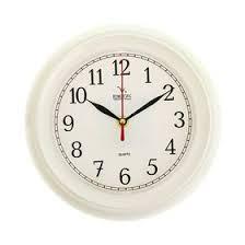 """<b>Часы настенные</b> классические """"<b>Вега</b>"""", белые (197159) - Купить ..."""