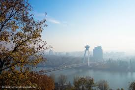 photo essay bratislava slovakia little bird around the world bratislava 06 view of ufo bridge from castle