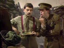 comedy comedy comedy  an essay  the cheeky monkey rowan atkinson amp hugh laurie blackadder goes