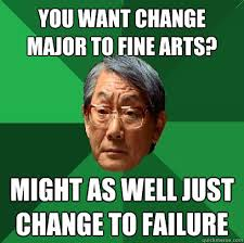 too many major changes! | What's wrong with college? | Pinterest via Relatably.com