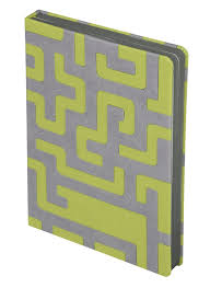 <b>Ежедневник Labyrinth</b>, <b>недатированный</b>, <b>зеленый</b>, фирмы «Inspire