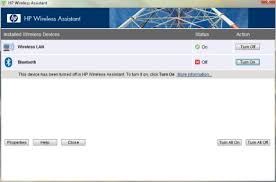 HP Notebook PCs - Installing and Using HP <b>Wireless</b> Assistant ...
