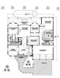 Mediterranean House Plans Fit to Warm Placessimple mediterranean house floor plan