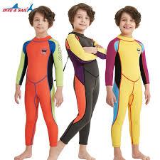 <b>Kids</b> 2.5mm Shorty Wetsuit <b>One Piece</b> UV Protection Warm <b>Swimsuit</b> ...