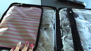 my new victoria 39 s secret large hanging travel case i will use it as a make up case