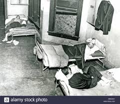great depression s stock photos great depression s stock chicago flophouse during the great depression of the 1930s stock image