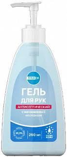 Клинса <b>гель для рук антисептический</b> с витамином е 250мл ...