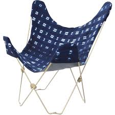 <b>Indigo</b> Mudcloth <b>Butterfly Chair</b> (With images) | <b>Butterfly chair</b> cover ...
