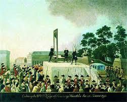 Resultado de imagen para imagenes de las ejecuciones en la guillotina