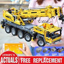 <b>Mould King</b> 20004 <b>High Tech</b> Eletric <b>Motorized</b> Mobile Crane Mk II ...